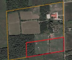 Aerial Showing Lots 1 & 2 included - Country homes for sale and luxury real estate including horse farms and property in the Caledon and King City areas near Toronto