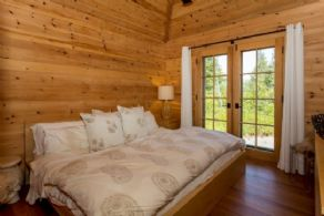 1 of 2 Guest Cabin Bedrooms - Country homes for sale and luxury real estate including horse farms and property in the Caledon and King City areas near Toronto