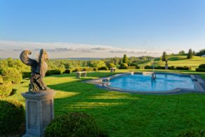 Pool - Country homes for sale and luxury real estate including horse farms and property in the Caledon and King City areas near Toronto