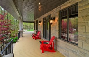 Porch - Country homes for sale and luxury real estate including horse farms and property in the Caledon and King City areas near Toronto