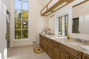Guest Ensuite Bathroom - Country homes for sale and luxury real estate including horse farms and property in the Caledon and King City areas near Toronto