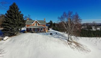 Porterfield Farmhouse, Caledon, Ontario - Country homes for sale and luxury real estate including horse farms and property in the Caledon and King City areas near Toronto