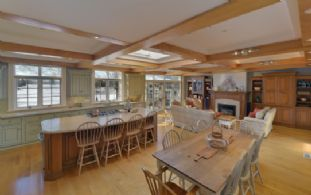 Kitchen/Family Room - Country homes for sale and luxury real estate including horse farms and property in the Caledon and King City areas near Toronto