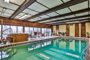 Indoor Pool - Country homes for sale and luxury real estate including horse farms and property in the Caledon and King City areas near Toronto