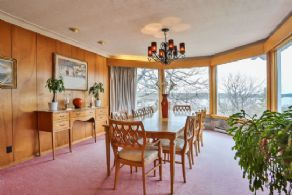 Dining Room with Water Views - Country homes for sale and luxury real estate including horse farms and property in the Caledon and King City areas near Toronto