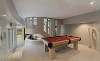 Billiard Area - Country homes for sale and luxury real estate including horse farms and property in the Caledon and King City areas near Toronto