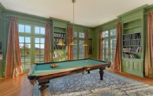 Billiard Room - Country homes for sale and luxury real estate including horse farms and property in the Caledon and King City areas near Toronto