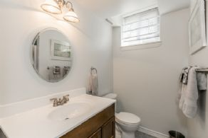 Lower Level Bathroom - Country homes for sale and luxury real estate including horse farms and property in the Caledon and King City areas near Toronto
