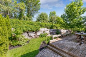 Back Deck - Country homes for sale and luxury real estate including horse farms and property in the Caledon and King City areas near Toronto