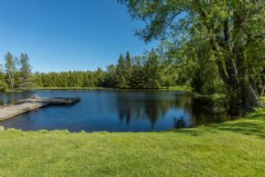Swimming Pond - Country homes for sale and luxury real estate including horse farms and property in the Caledon and King City areas near Toronto