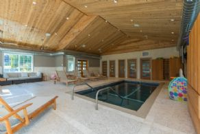 Pool Spa Interior - Country homes for sale and luxury real estate including horse farms and property in the Caledon and King City areas near Toronto