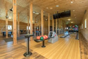 Bowling Alley - Country homes for sale and luxury real estate including horse farms and property in the Caledon and King City areas near Toronto
