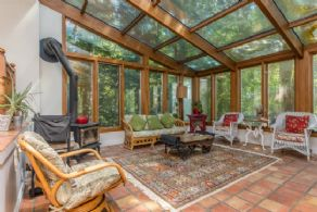 Sun Room - Country homes for sale and luxury real estate including horse farms and property in the Caledon and King City areas near Toronto