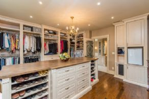 Master Suite Dressing Room - Country homes for sale and luxury real estate including horse farms and property in the Caledon and King City areas near Toronto