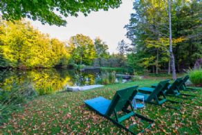 Trout Pond - Country homes for sale and luxury real estate including horse farms and property in the Caledon and King City areas near Toronto