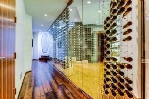 Climate Controlled Wine Cellar - Country homes for sale and luxury real estate including horse farms and property in the Caledon and King City areas near Toronto