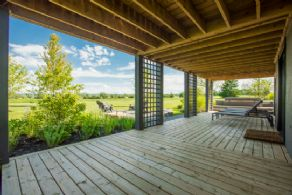 Covered Porch - Country homes for sale and luxury real estate including horse farms and property in the Caledon and King City areas near Toronto