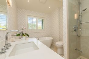 Bathroom 2 - Country homes for sale and luxury real estate including horse farms and property in the Caledon and King City areas near Toronto