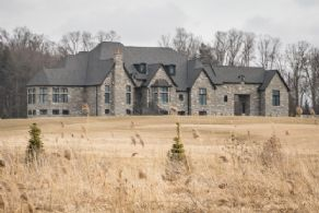 Stone Facade - Country homes for sale and luxury real estate including horse farms and property in the Caledon and King City areas near Toronto