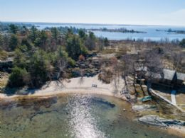 Jones Island, Georgian Bay, Ontario - Country homes for sale and luxury real estate including horse farms and property in the Caledon and King City areas near Toronto