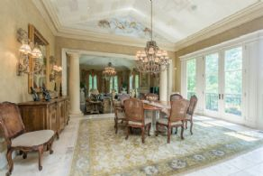 Breakfast Room - Country homes for sale and luxury real estate including horse farms and property in the Caledon and King City areas near Toronto