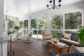 Screened Porch - Country homes for sale and luxury real estate including horse farms and property in the Caledon and King City areas near Toronto