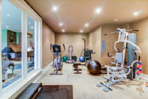 Home Gym - Country homes for sale and luxury real estate including horse farms and property in the Caledon and King City areas near Toronto