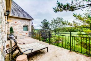 Master Suite Terrace - Country homes for sale and luxury real estate including horse farms and property in the Caledon and King City areas near Toronto