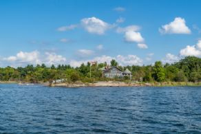 Roberts Island - 2 Cottages, Georgian Bay, Ontario - Country homes for sale and luxury real estate including horse farms and property in the Caledon and King City areas near Toronto