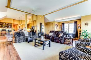 Open Concept Living/Dining Space - Country homes for sale and luxury real estate including horse farms and property in the Caledon and King City areas near Toronto