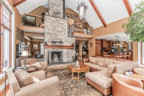 Family Room opens into Kitchen - Country homes for sale and luxury real estate including horse farms and property in the Caledon and King City areas near Toronto