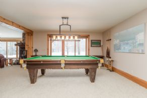 Recreation Room - Country homes for sale and luxury real estate including horse farms and property in the Caledon and King City areas near Toronto