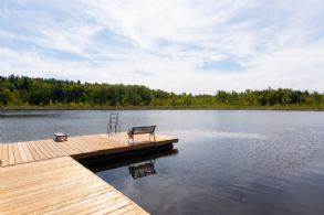 Dock Looking West - Country homes for sale and luxury real estate including horse farms and property in the Caledon and King City areas near Toronto