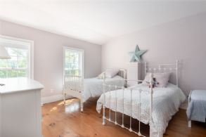 Bedroom with Lake Views - Country homes for sale and luxury real estate including horse farms and property in the Caledon and King City areas near Toronto