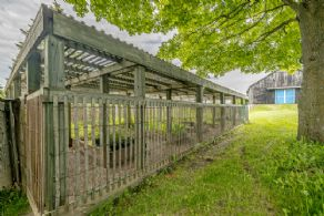 Organic Vegetable Garden - Country homes for sale and luxury real estate including horse farms and property in the Caledon and King City areas near Toronto
