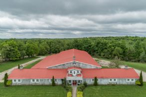 Belfountain Area Horse Property, Ontario - Country homes for sale and luxury real estate including horse farms and property in the Caledon and King City areas near Toronto