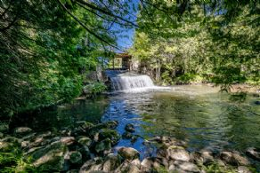 Sheldon Falls - Country homes for sale and luxury real estate including horse farms and property in the Caledon and King City areas near Toronto