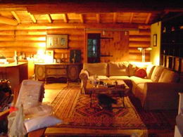 Interior - Log Cabin - Country homes for sale and luxury real estate including horse farms and property in the Caledon and King City areas near Toronto